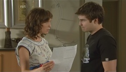 Bridget Parker, Declan Napier in Neighbours Episode 5697