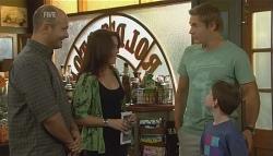 Steve Parker, Libby Kennedy, Dan Fitzgerald, Ben Kirk in Neighbours Episode 5698