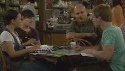 Sunny Lee, Zeke Kinski, Steve Parker, Ringo Brown in Neighbours Episode 5698