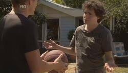 Dan Fitzgerald, Harry Ramsay in Neighbours Episode 5699