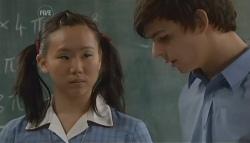 Sunny Lee, Zeke Kinski in Neighbours Episode 5699