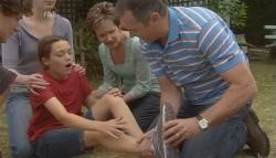 Harry Ramsay, Kate Ramsay, Sophie Ramsay, Susan Kennedy, Karl Kennedy in Neighbours Episode 5699