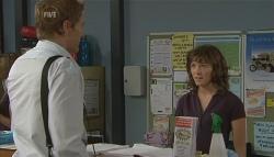 Dan Fitzgerald, Bridget Parker in Neighbours Episode 5700