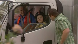 Lou Carpenter, Callum Jones, Toadie Rebecchi in Neighbours Episode 5700