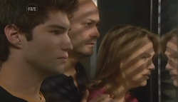 Declan Napier, Steve Parker, Miranda Parker in Neighbours Episode 5718