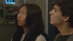 Sunny Lee, Zeke Kinski in Neighbours Episode 5718