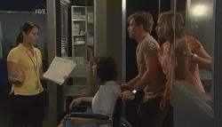 Bridget Parker, Ringo Brown, Donna Freedman in Neighbours Episode 5718