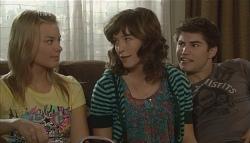 Donna Freedman, Bridget Parker, Declan Napier in Neighbours Episode 5723