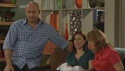 Steve Parker, India Napier, Rebecca Napier, Miranda Parker in Neighbours Episode 5723