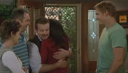 Susan Kennedy, Karl Kennedy, Toadie Rebecchi, Libby Kennedy, Dan Fitzgerald in Neighbours Episode 5723