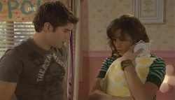 Declan Napier, Bridget Parker, India Napier in Neighbours Episode 5724