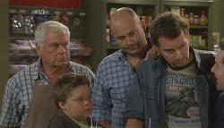 Lou Carpenter, Callum Jones, Steve Parker, Lucas Fitzgerald, Toadie Rebecchi in Neighbours Episode 5724