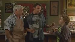 Lou Carpenter, Lucas Fitzgerald, Callum Jones in Neighbours Episode 5724