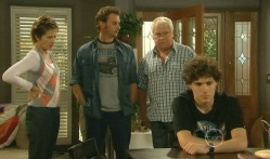 Susan Kennedy, Lucas Fitzgerald, Lou Carpenter, Harry Ramsay in Neighbours Episode 5725