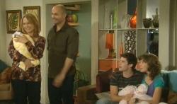 Miranda Parker, India Napier, Steve Parker, Declan Napier, Bridget Parker in Neighbours Episode 5725