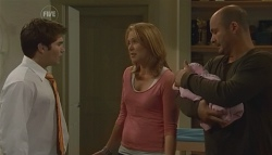 Declan Napier, Miranda Parker, India Napier, Steve Parker in Neighbours Episode 5729