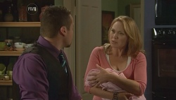 Toadie Rebecchi, Miranda Parker, India Napier in Neighbours Episode 5729