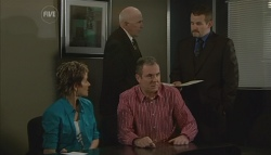 Susan Kennedy, Doctor Brian Rode, Karl Kennedy, Toadie Rebecchi in Neighbours Episode 5729