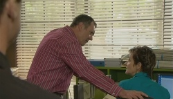 Paul Robinson, Karl Kennedy, Susan Kennedy in Neighbours Episode 5729