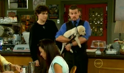 Harry Ramsay, Toadie Rebecchi, Rocky in Neighbours Episode 5730