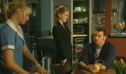 Donna Freedman, Elle Robinson, Lucas Fitzgerald in Neighbours Episode 5731