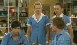 Zeke Kinski, Donna Freedman, Sunny Lee, Ringo Brown in Neighbours Episode 5731