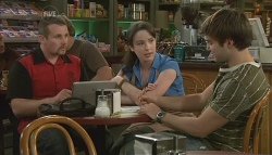 Toadie Rebecchi, Kate Ramsay, Declan Napier in Neighbours Episode 5734