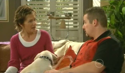 Susan Kennedy, Rocky, Toadie Rebecchi in Neighbours Episode 5735