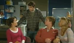 Susan Kennedy, Declan Napier, Ringo Brown, Donna Freedman in Neighbours Episode 5736