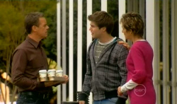 Paul Robinson, Declan Napier, Susan Kennedy in Neighbours Episode 5737