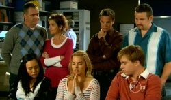 Karl Kennedy, Susan Kennedy, Paul Robinson, Toadie Rebecchi, Sunny Lee, Donna Freedman, Ringo Brown in Neighbours Episode 5737