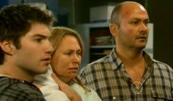 Declan Napier, Miranda Parker, Steve Parker in Neighbours Episode 5737