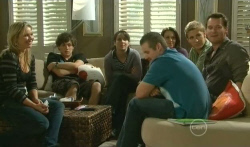 Steph Scully, Harry Ramsay, Kate Ramsay, Toadie Rebecchi, Libby Kennedy, Dan Fitzgerald, Lucas Fitzgerald in Neighbours Episode 5738
