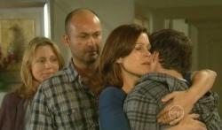 Miranda Parker, Steve Parker, Rebecca Napier, Declan Napier in Neighbours Episode 5738