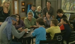Steph Scully, Karl Kennedy, Libby Kennedy, Dan Fitzgerald, Ben Kirk, Callum Jones, Toadie Rebecchi, Charlie Hoyland, Kate Ramsay, Lucas Fitzgerald in Neighbours Episode 5738