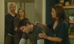 Steve Parker, Miranda Parker, Declan Napier, Rebecca Napier in Neighbours Episode 5738