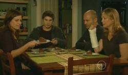 Rebecca Napier, Declan Napier, Steve Parker, Miranda Parker in Neighbours Episode 5739