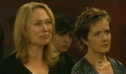 Miranda Parker, Zeke Kinski, Susan Kennedy in Neighbours Episode 5740