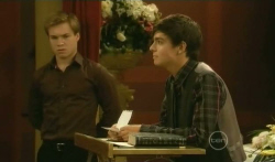 Ringo Brown, Zeke Kinski in Neighbours Episode 5740