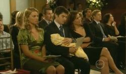 Donna Freedman, Toadie Rebecchi, Declan Napier, India Napier, Rebecca Napier, Dan Fitzgerald, Libby Kennedy in Neighbours Episode 5740
