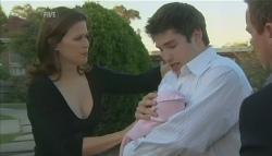 Rebecca Napier, India Napier, Declan Napier in Neighbours Episode 5741