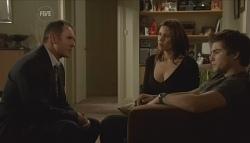 Karl Kennedy, Rebecca Napier, Declan Napier in Neighbours Episode 5741