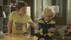 Ben Kirk, Charlie Hoyland in Neighbours Episode 5743