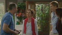 Karl Kennedy, Susan Kennedy, Dan Fitzgerald, Libby Kennedy in Neighbours Episode 5744