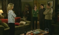 Steph Scully, Kate Ramsay, Harry Ramsay, Toadie Rebecchi in Neighbours Episode 5745