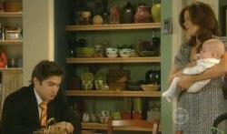 Declan Napier, Rebecca Napier, India Napier in Neighbours Episode 5745