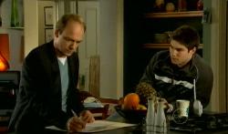 Tim Collins, Declan Napier in Neighbours Episode 5747