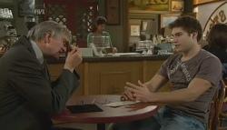 Gareth Henning, Declan Napier in Neighbours Episode 5748