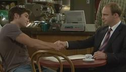 Declan Napier, Tim Collins in Neighbours Episode 5748