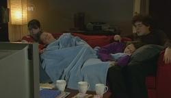 Kate Ramsay, Callum Jones, Sophie Ramsay, Harry Ramsay in Neighbours Episode 5749